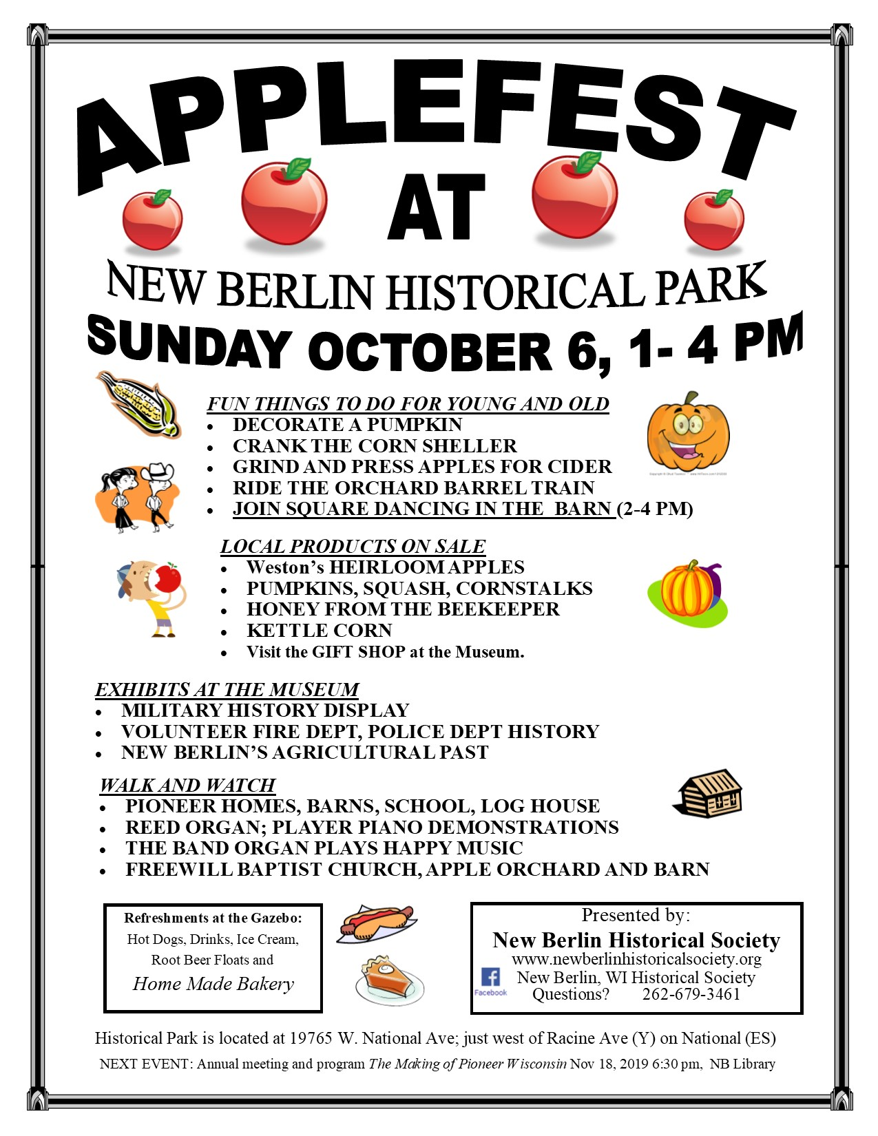 Applefest 2019 flyer